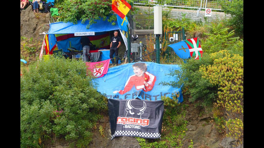 Alonso-Fans - Formel 1 - GP Monaco - 22. Mai 2014