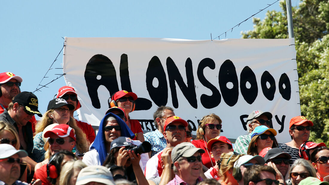 Alonso-Fans - Formel 1 - GP Spanien 2013