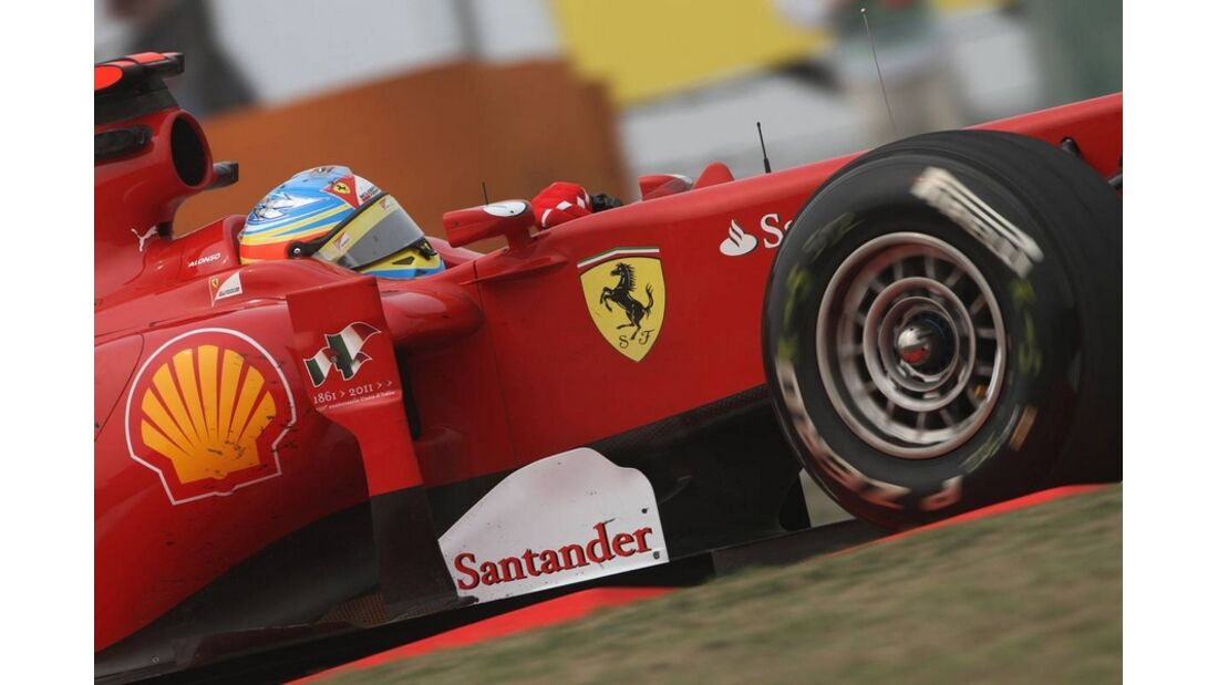 Alonso Formel 1 GP China 2011