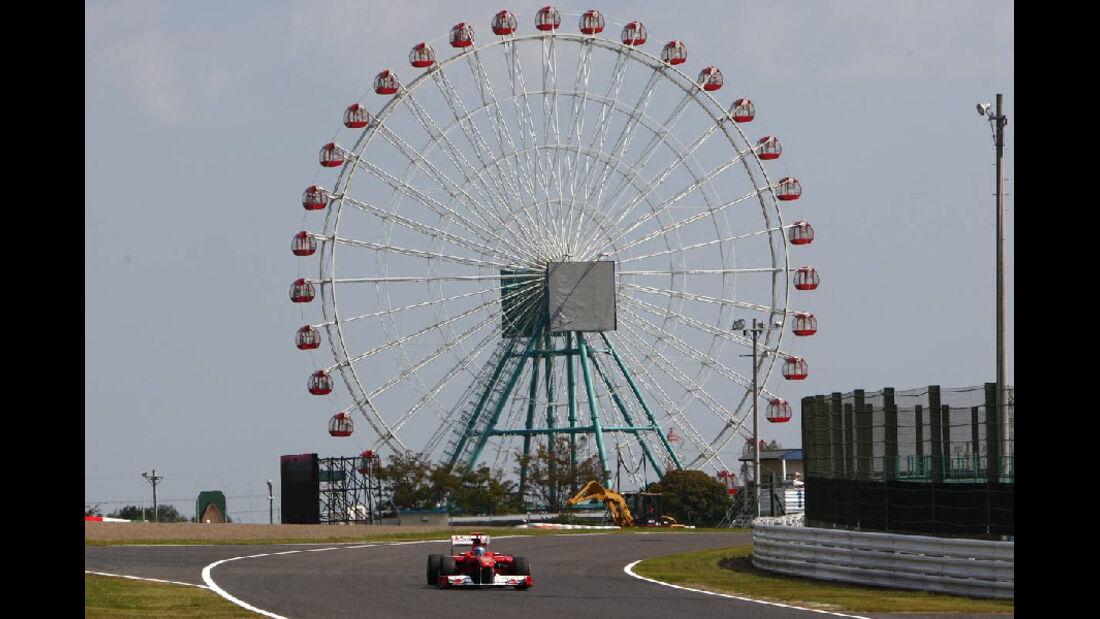 Alonso  - Formel 1 - GP Japan - 07. Oktober 2011