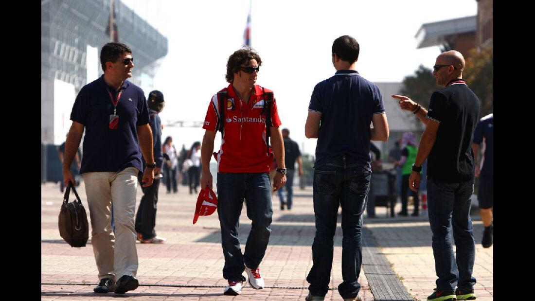 Alonso   - Formel 1 - GP Korea - 13. Oktober 2011