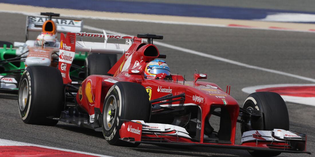 Alonso - GP Bahrain 2013