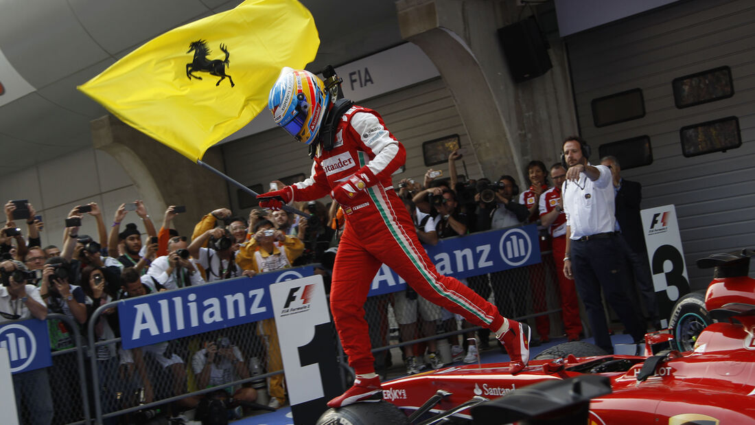Alonso GP China 2013