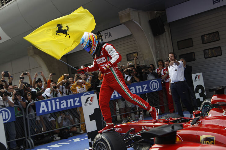 Alonso GP China 2013