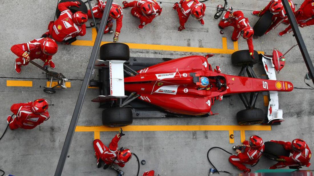 Alonso GP Malaysia 2011