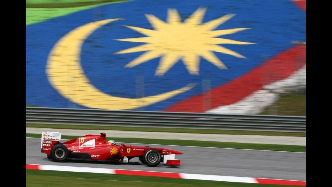 Alonso GP Malaysia 2011 Formel 1