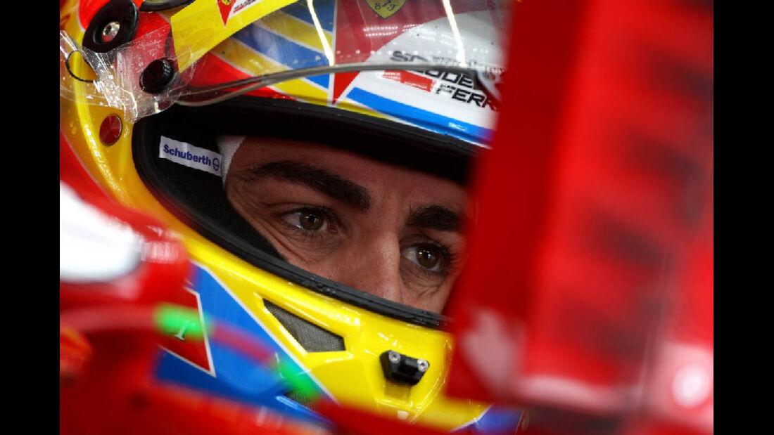 Alonso GP Türkei 2011