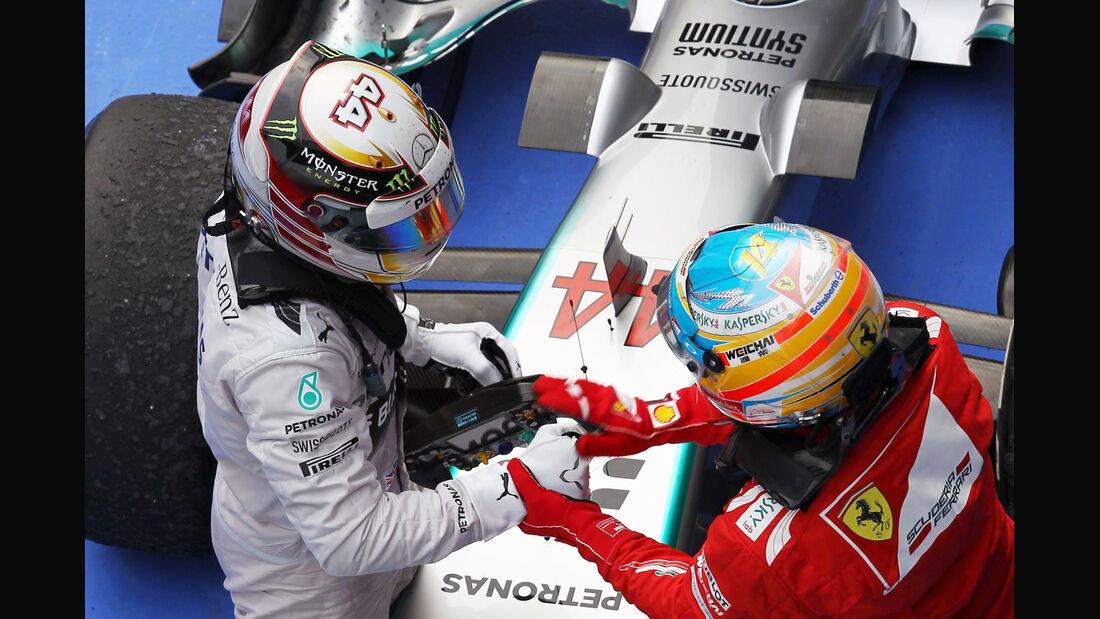 Alonso & Hamilton - Formel 1 - 2014