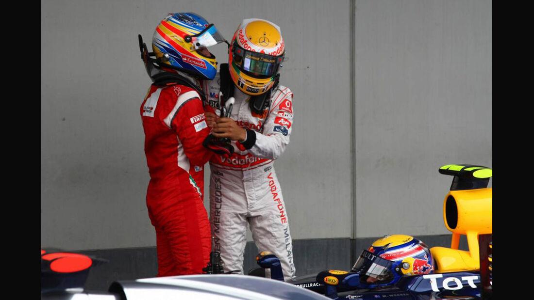 Alonso Hamilton GP Deutschland 2011