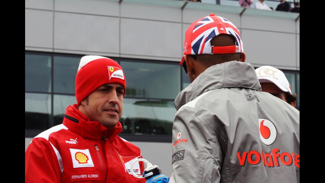 Alonso & Hamilton GP England Silverstone 2012