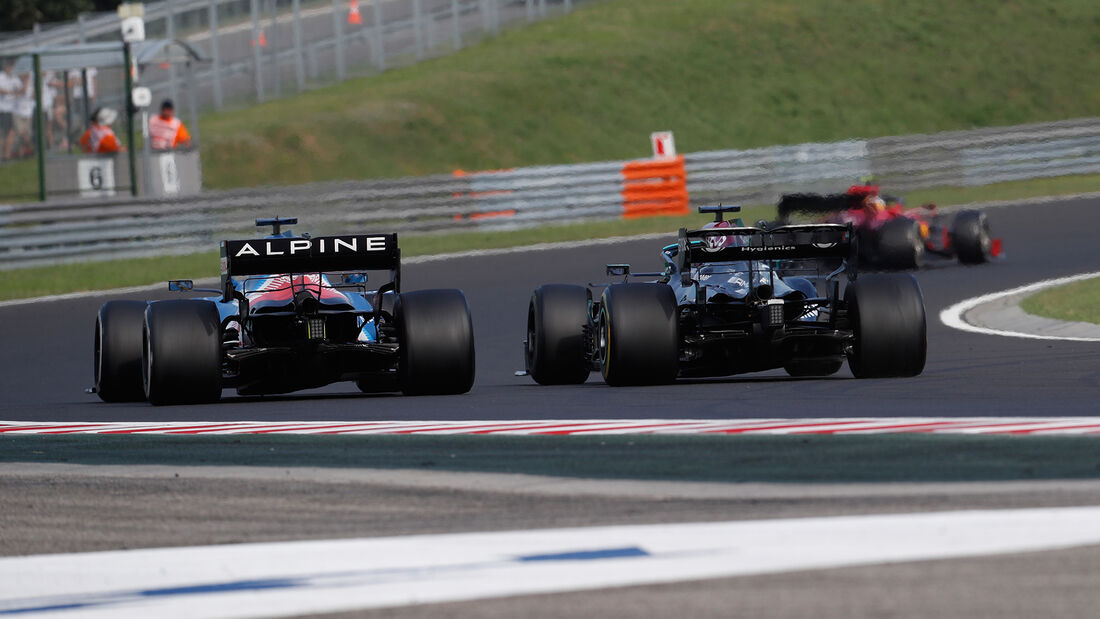 Alonso - Hamilton - GP Ungarn 2021 - Budapest - Rennen