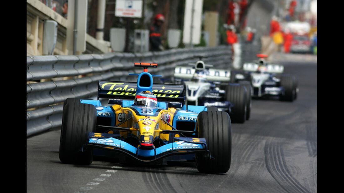 Alonso Heidfeld GP Monaco 2005