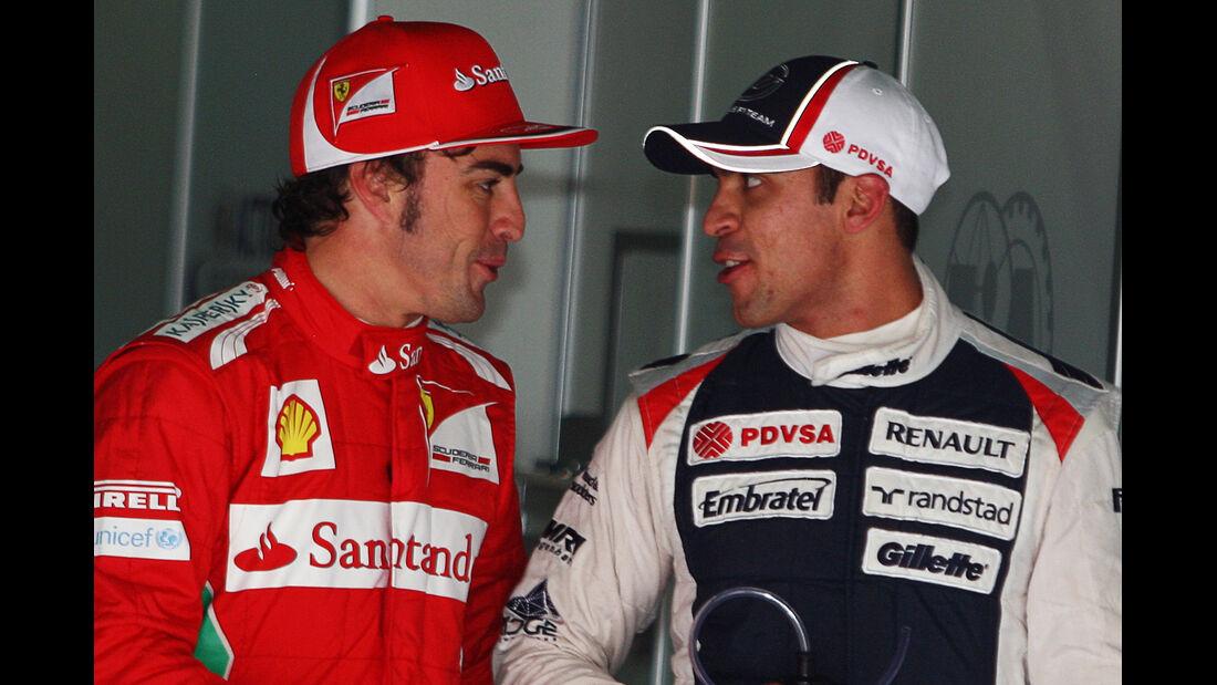 Alonso & Maldonado - GP Spanien - 12. Mai 2012