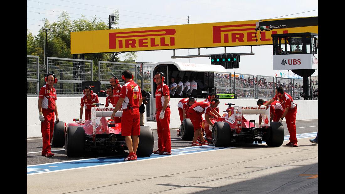 Alonso & Massa - Formel 1 - GP Japan - Suzuka - 6. Oktober 2012