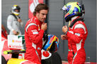 Alonso & Massa - GP England - Qualifying - 9. Juli 2011