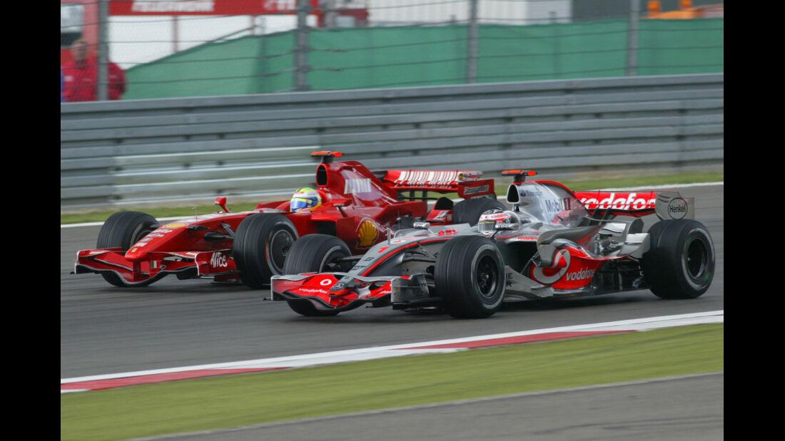 Alonso Massa GP Europa 2007