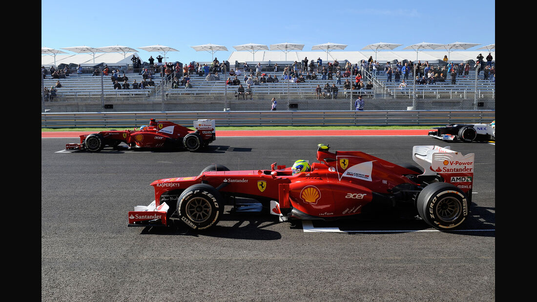 Alonso & Massa GP USA 2012
