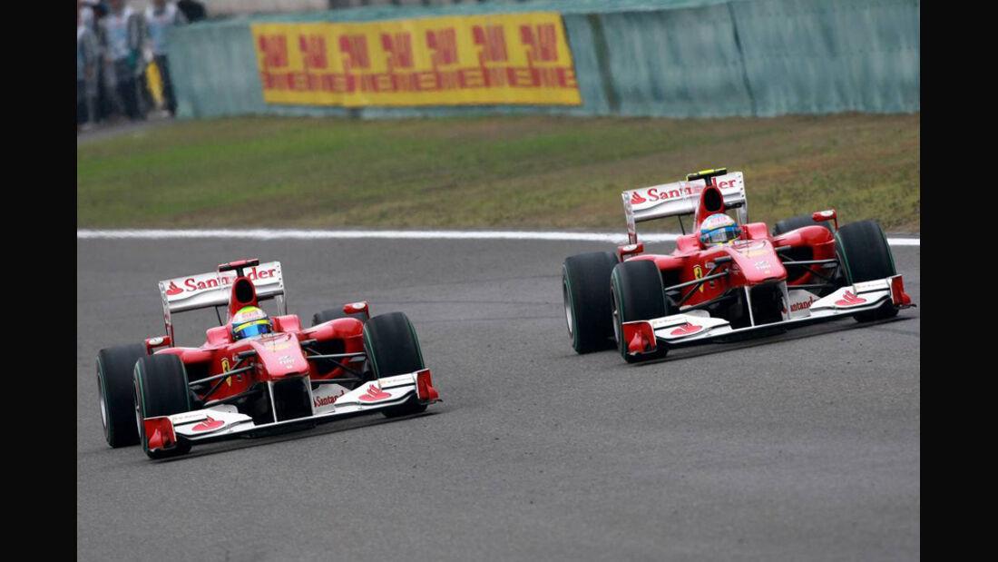 Alonso, Massa