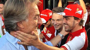 Alonso & Montezemolo - Ferrari