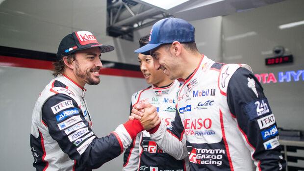 Alonso - Nakajima - Buemi - Toyota - 24h-Rennen Le Mans 2018 - Qualifying
