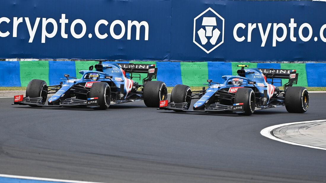 Alonso & Ocon - Formel 1 - GP Ungarn - 2021