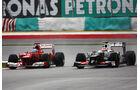 Alonso & Perez GP Malaysia 2012