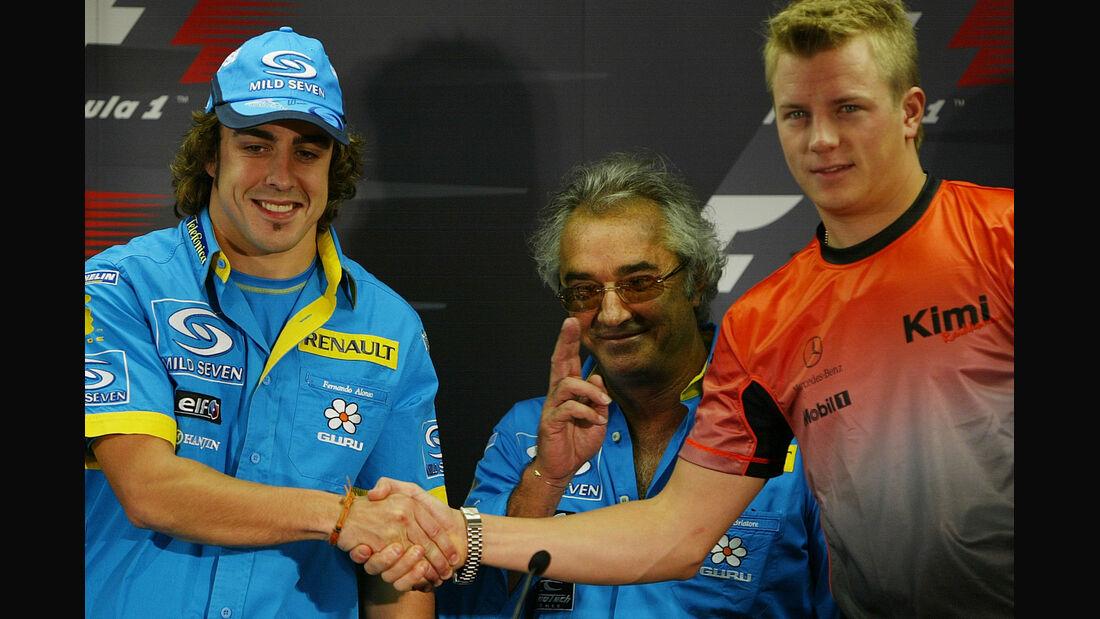 Alonso & Räikkönen - 2005