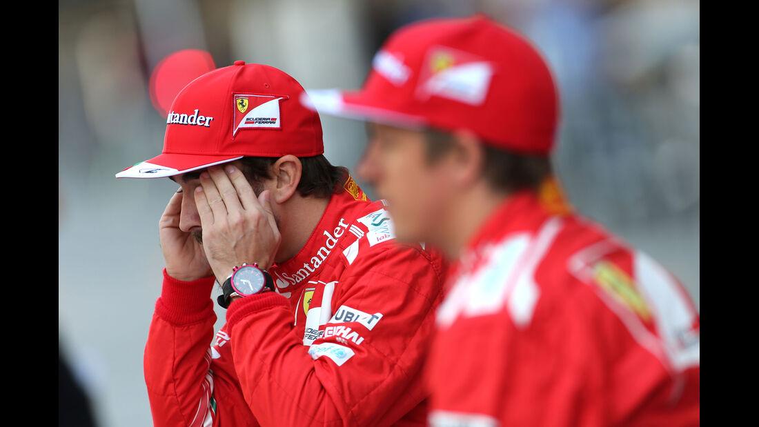 Alonso & Räikkönen - Formel 1 - GP Abu Dhabi - 21. November 2014