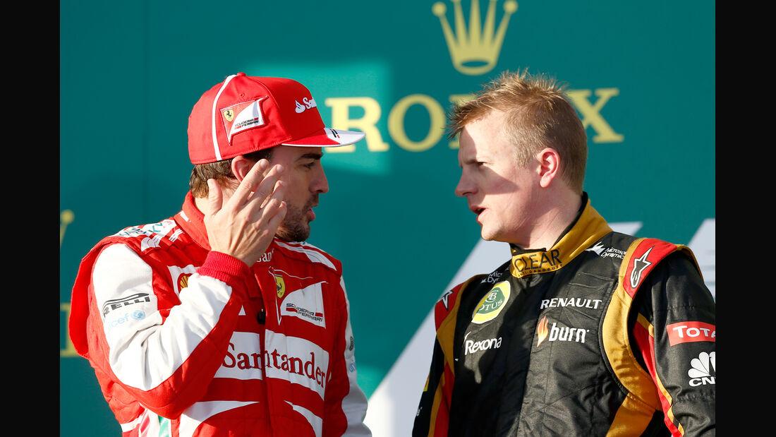 Alonso & Räikkönen - GP Australien 2013