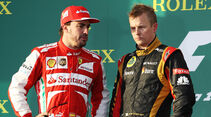 Alonso & Räikkönen GP Australien 2013
