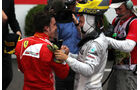 Alonso & Rosberg - GP Monaco 2012