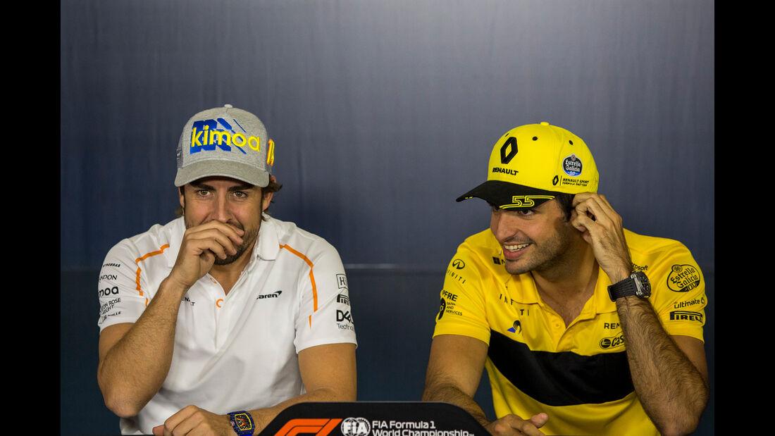 Alonso & Sainz - Formel 1 - GP Spanien - Barcelona - 10. Mai 2018
