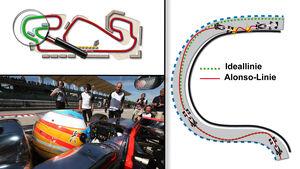 Alonso - Unfall - Test - Grafik - 2015