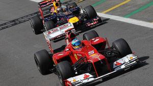Alonso & Vettel - Formel 1 - GP Brasilien - Sao Paulo - 23. November 2012