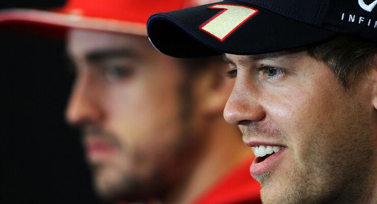 Alonso & Vettel - Formel 1 - GP USA - Austin - 15. November 2012