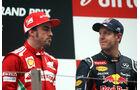 Alonso & Vettel GP Abu Dhabi 2012