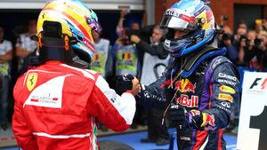 Alonso & Vettel - GP Belgien 2013