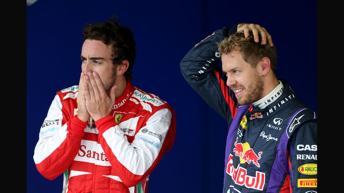 Alonso & Vettel - GP Brasilien - 23. November 2013