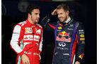Alonso & Vettel - GP Brasilien - 23. November 2013
