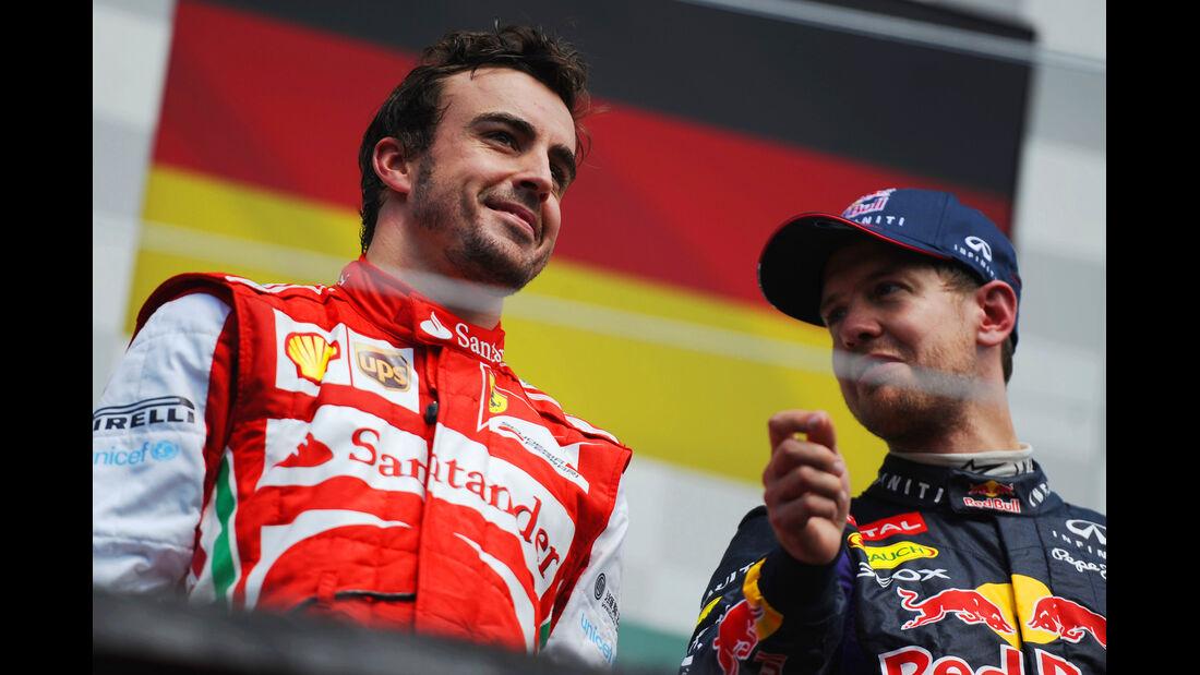 Alonso & Vettel - GP Kanada 2013