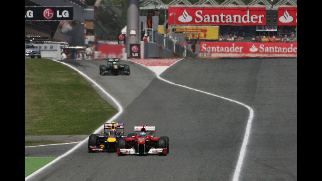 Alonso Webber GP Spanien 2011