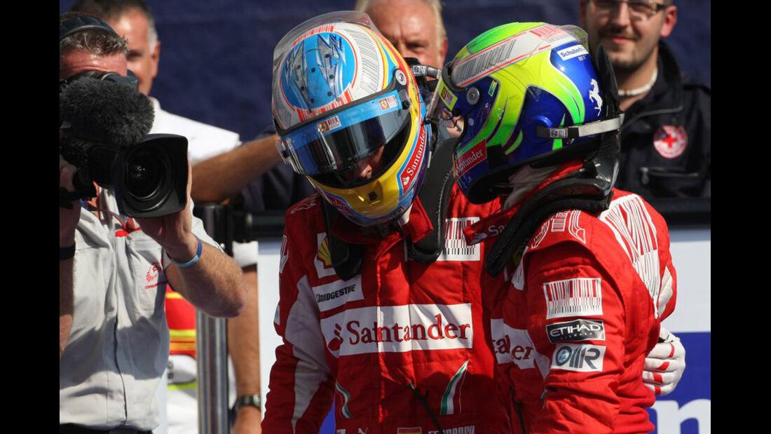 Alonso und Massa