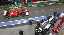 Alonso und Schumacher