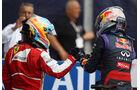 Alonso und Vettel - Formel 1 - GP Italien 2013