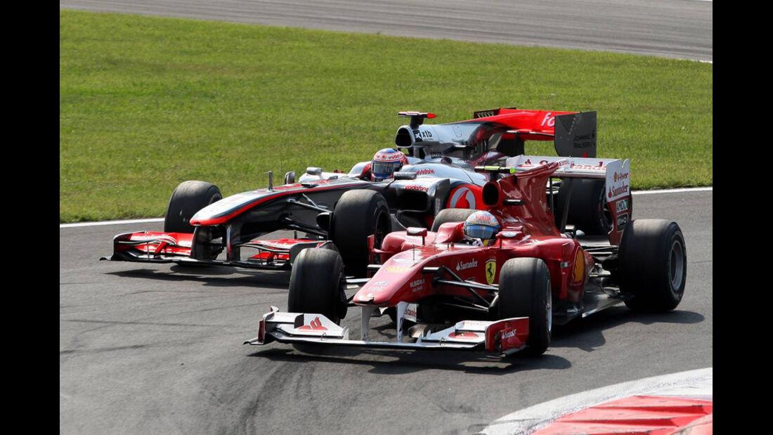Alonso vs. Button