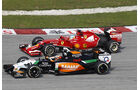 Alonso vs. Hülkenberg - GP Malaysia 2014