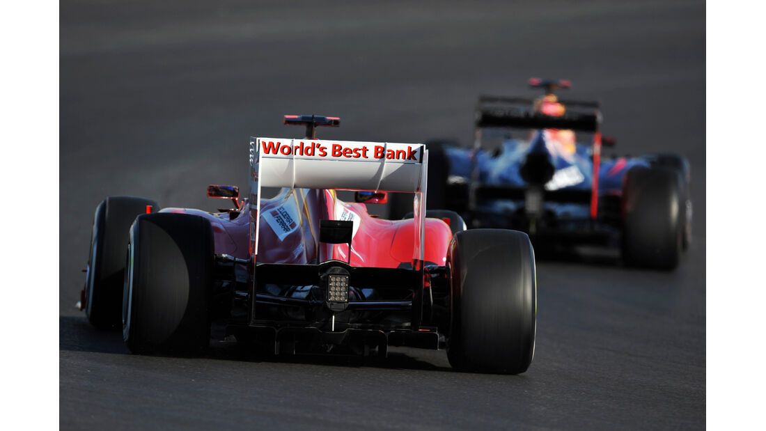 Alonso vs. Vettel - Formel 1 - GP USA - Austin - 17. November 2012