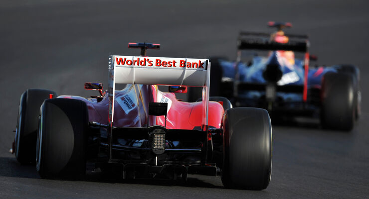 Alonso vs. Vettel - Formel 1 - GP USA - Austin - 17. November 2012
