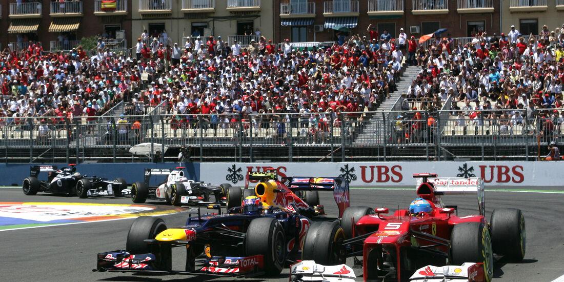Alonso vs. Webber GP Europa 2012