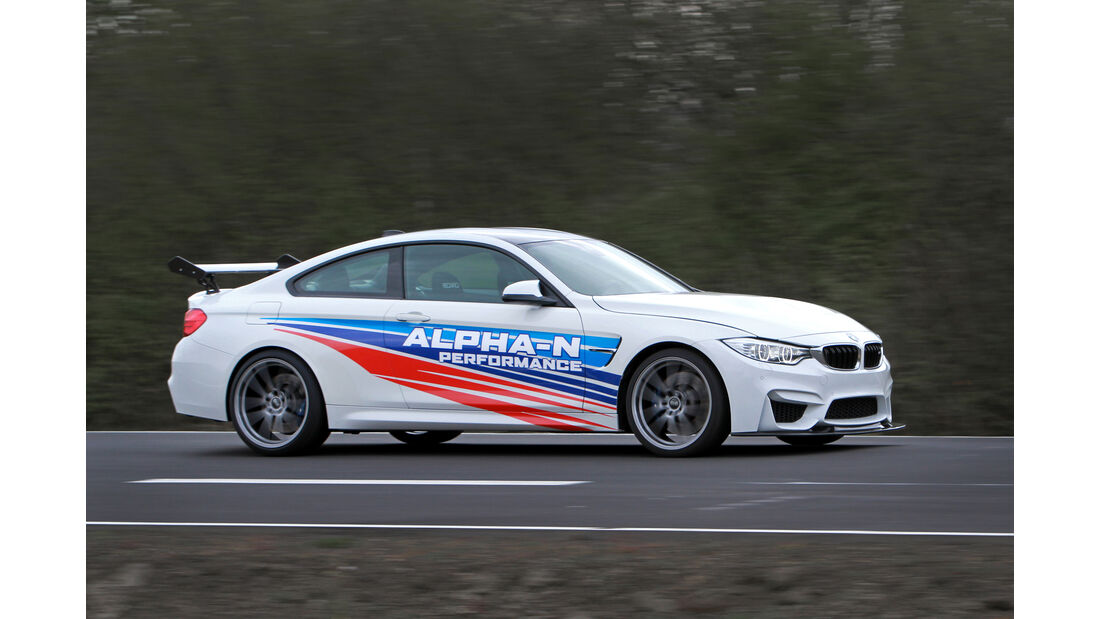 Alpha-N Performance-BMW M4 RS F82, Tuning, Tracktool